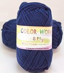 Heirloom Color Works Dark Blue 407 8 Ply