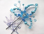 Hair Pin - Lily - Turquoise