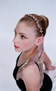 Headband - Flexi Wire Crystal and Pearl