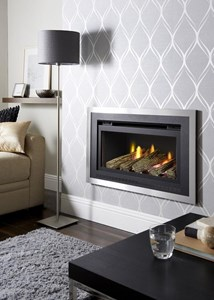 Crystal Florida Glass Fronted Gas Fire