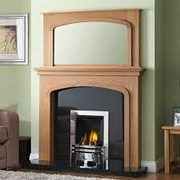 GB Mantels Pendle Oak Surround