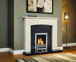 "Be Modern Ellonby 50"" Wooden Fireplace"