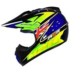 (CLEARANCE) M2R X-2.5 JUNIOR HELMET BRETT METCALFE 24 REPLICA PC-2