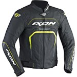 2018 IXON FIGHTER AIR JACKET BLACK/YELLOW