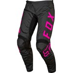(CLEARANCE) FOX 2017 KIDS 180 PANTS - BLACK / PINK