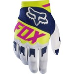 FOX 2017 DIRTPAW RACE YOUTH GLOVES - NAVY / WHITE