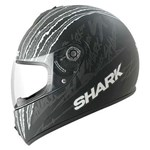 (SHARK CLEARANCE) - Shark S600 Terror Helmet - Black/Anthracite