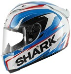 (SHARK CLEARANCE SALE) - Shark Race-R Pro Kimbo Helmet - Blue/Red