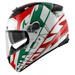 (CLEARANCE SALE) - Shark Speed-R Helmet - Craig White/Green/Red