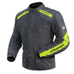 (CLEARANCE SALE) - DriRider Apex 2 Textile Jacket - Black/Yellow