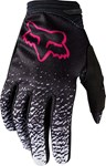 (CLEARANCE) FOX 2018 WOMENS DIRTPAW GLOVES - BLACK/PINK