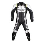 (CLEARANCE) - ARLEN NESS VELOCITY 1PC LEATHER SUIT BK/WH