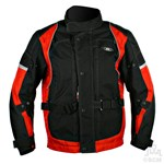 (EVERYDAY SPECIAL) - KG CAYENNE TEXTILE JACKET BLACK/RED Clearance Special
