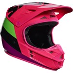 Shift 2017 Whit3 Tarmac MX Helmet - Black/Pink