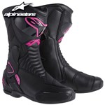 Alpinestars SMX-6 Stella Ladies Boots - Black/Pink