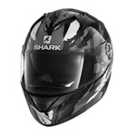SHARK RIDILL HELMET - OXYD BLACK/CHROME/ANTHRACITE