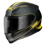 (CLEARANCE) Shoei NXR Flagger TC-3 - Matt Black-Yellow