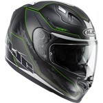 HJC FG-ST ECE Helmet - BESTY MC-4SF (Black/Green)