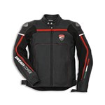 (CLEARANCE SALE) - Ducati Corse 14 Leather Jacket - Black/Red