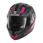 SHARK RIDILL HELMET - OXYD BLACK/VIOLET/ANTHRACITE