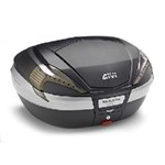 GIVI V56 MONOKEY® 56L TOPBOX - TECH BLACK/CLEAR/CARBON