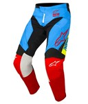 (CLEARANCE) Alpinestars 2018 Racer Supermatic Pants - Aqua/Black/Red