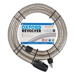 OXFORD REVOLVER ARMOURED CABLE LOCK - 1.8M