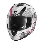 SHARK RIDILL HELMET - SPRING WHITE/BLACK/PINK