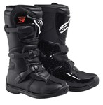 ALPINESTARS TECH 3S YOUTH MX BOOTS - BLACK
