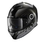 SHARK SPARTAN CARBON CLIFF ECE HELMET - Carbon/Anthracite/Yellox