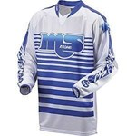 (CLEARANCE SALE) - MSR OldSchool Men's MX Jersey - Blue - only $10