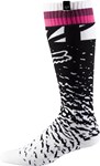 FOX 2018 WOMENS MX SOCKS - BLACK/PINK - ONE SIZE