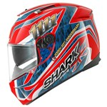 (SHARK CLEARANCE) - Shark Speed-R Series 2 Foggy 20th - Red/Blue