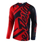 (CLEARANCE) TROY LEE DESIGNS 2018 SE AIR SHADOW JERSEY RED/NAVY