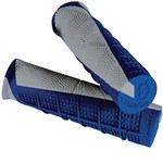 SCOTT DEUCE ATV GRIPS - BLUE/GREY