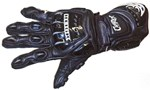 Berik Capirex Race Mens Leather Gloves - Black