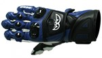 (CLEARANCE SALE) - Berik Vision Race Mens Leather Gloves - Blue