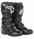 (CLEARANCE) ALPINESTARS TECH 6S YOUTH MX BOOTS - BLACK