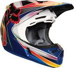 FOX 2018 V3 KUSTM HELMET - MULTI