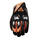 (CLEARANCE SALE) - Five Airflow Evo Gloves - Black/Orange