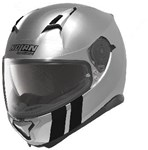 NOLAN N87 HELMET- MARTZ SCRATCH CHROME