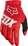 FOX 2018 DIRTPAW RACE YOUTH GLOVES - RED