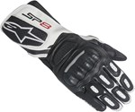 Alpinestars Stella SP-8 V2 Leather Gloves (Black/White)