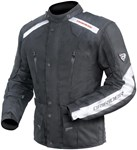 (CLEARANCE SALE) - DriRider Apex 2 Ladies Textile Jacket - Black/White