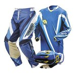 MSR NXT Men's Pant, Jersey and Glove Combo Blue