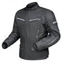 DRIRIDER APEX 3 WATERPROOF TEXTILE JACKET - BLACK