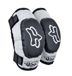 FOX 2017 KIDS PEEWEE PW-1 ELBOW GUARDS - BLACK /SILVER