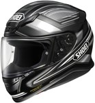 Shoei NXR Dominance Silver Helmet