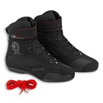 (CLEARANCE) Ducati COMPANY 2 LEATHER BOOTS - Black