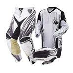 MSR Phantom Men's Pant, Jersey and Glove Combo White